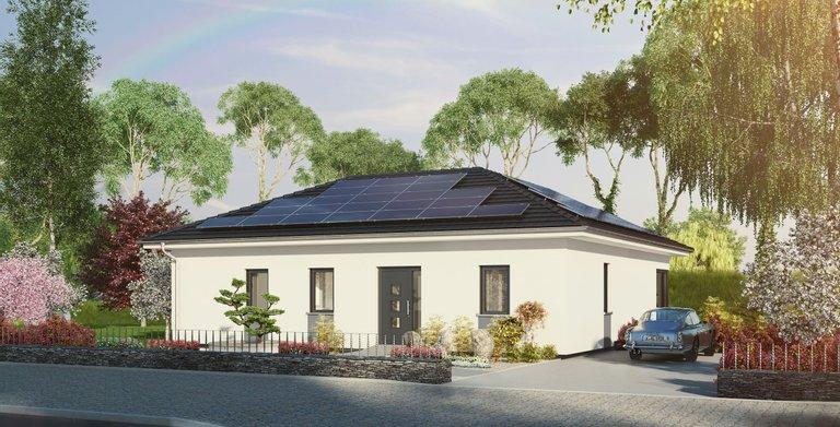Winkelbungalow mit Sonnenterrasse von OKAL Haus GmbH