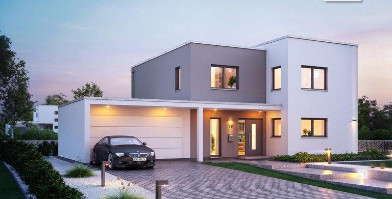 """Das Futura Bauhaus ist preisgekrönt, unter anderem mit dem """"Deutschen Traumhauspreis 2015"""". Copyright:"""