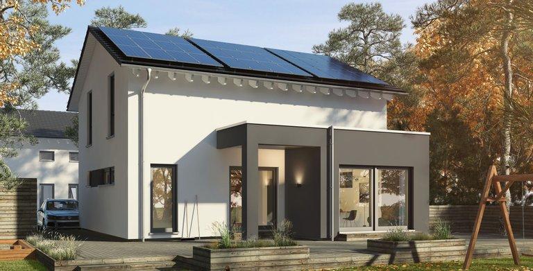 Einfamilienhaus mit Flachdacherker von OKAL Haus GmbH