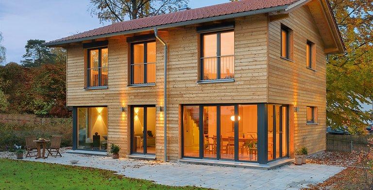 Naturholzhaus Rombach von Gruber Holzhaus GmbH