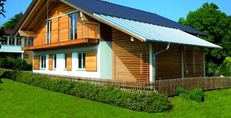Referenzhaus ROSENHEIM von Sonnleitner Holzbauwerke GmbH & Co. KG
