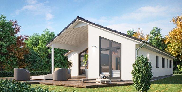 Bungalow SH 147 B Copyright: ScanHaus Marlow GmbH