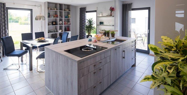 Küche und Esszimmer Copyright: FingerHaus