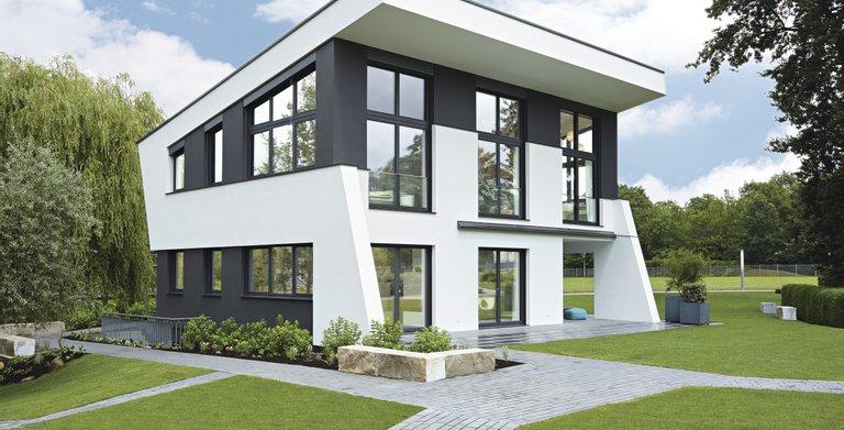 Ausstellungshaus Rheinau-Linx in einem neuartigem Architektur-Design Copyright: WeberHaus