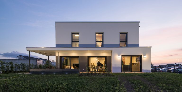 musterhaus gie en maxim von fingerhaus gmbh wohngl. Black Bedroom Furniture Sets. Home Design Ideas