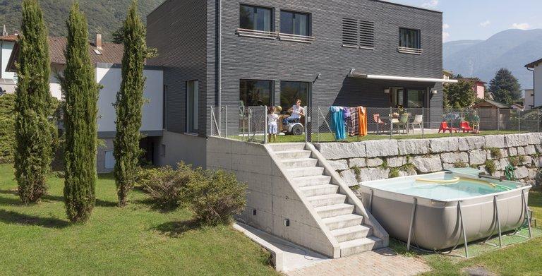 barrierefreies einfamilienhaus von schw rerhaus kg wohngl. Black Bedroom Furniture Sets. Home Design Ideas
