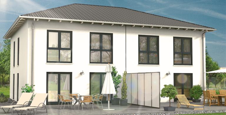 hebelhaus DHH Stadthaus 52.11 von HebelHAUS (ein Geschäftsbereich der Xella Aircrete Systems GmbH)