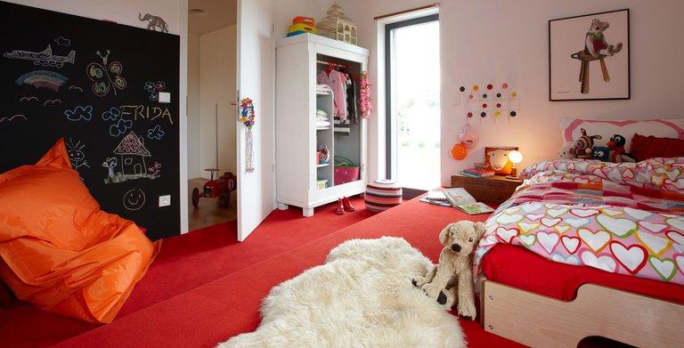 Einrichtungsidee - Mädchenzimmer Copyright: SchwörerHaus KG