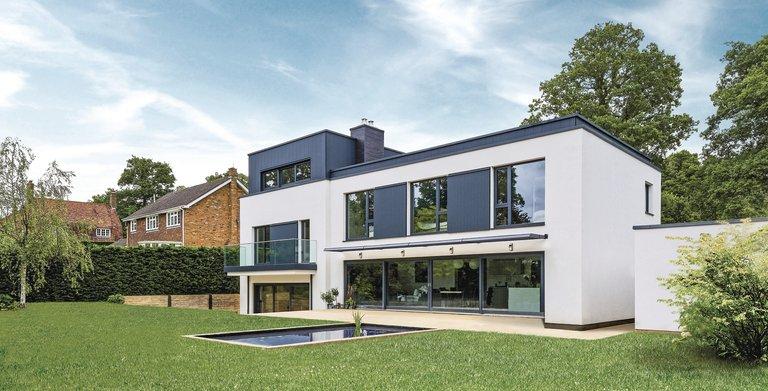Frei geplantes Architektenhaus Copyright: WeberHaus