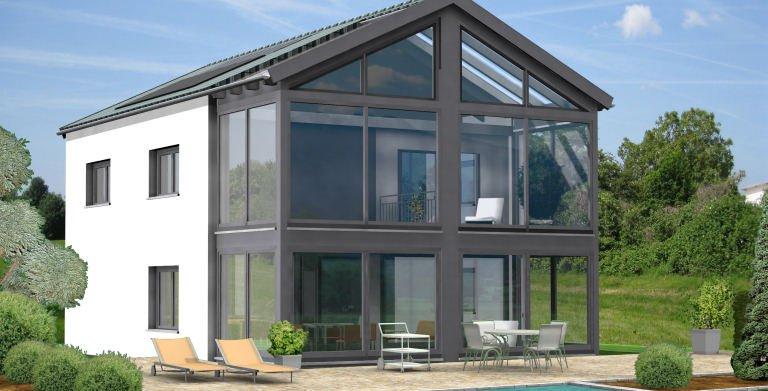 Planungsbeispiel Einfamilienhaus 154H20 von Bio-Solar-Haus