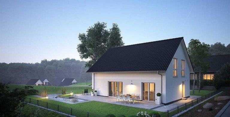 Dank des 140-Zentimeter-Drempels bietet das Dachgeschoss viel Platz auch für hohe Sideboards. Copyright: