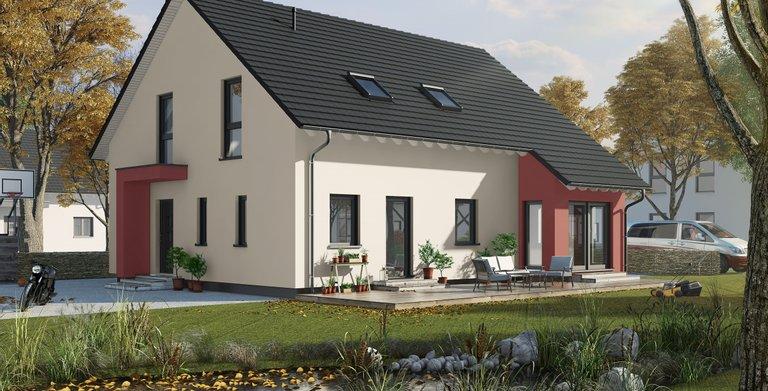 Vorschaubild Generationenhaus mit Schleppdacherker und Einliegerwohnung