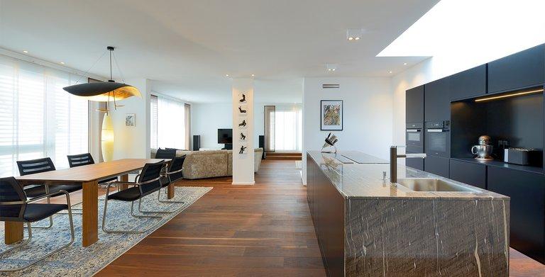 Naturholzhaus Azur Wohnbereich Copyright: