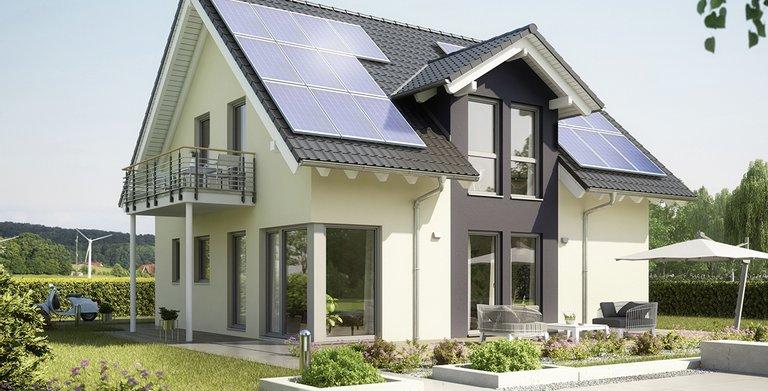 Satteldachhaus MAGOS Offenburg von KAMPA GmbH