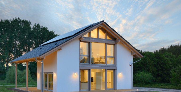Satteldachhaus MAGOS_2.1570 von KAMPA GmbH