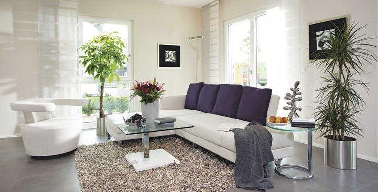 Gemütliches Wohnzimmer Copyright: WeberHaus