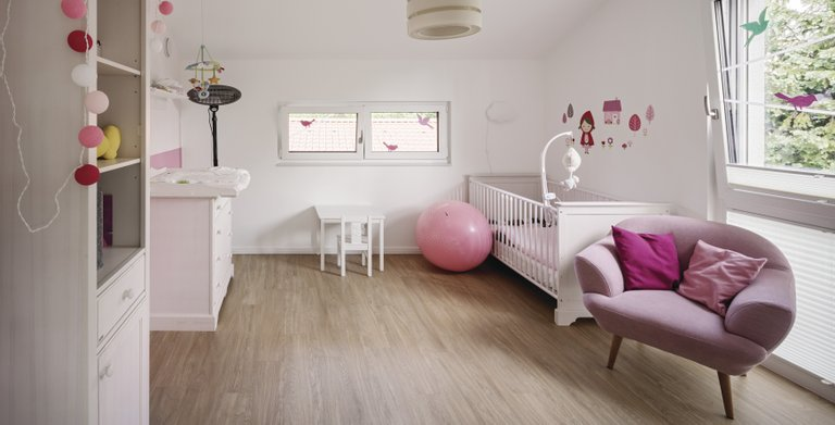 Ein Kinderzimmer zum Wohlfühlen Copyright: WeberHaus