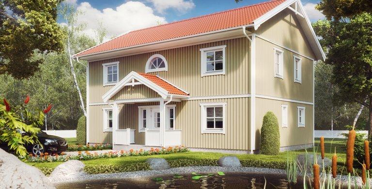 Villa Ulla Lindberg von ALADOMO Schwedenhaus GmbH & Co. KG