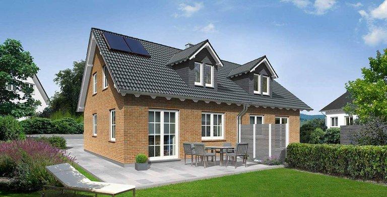 Doppelhaus Duett 115 - Klinker Copyright: Town & Country Haus
