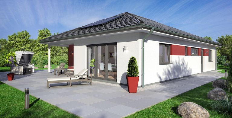 Bungalow SH 127 B von ScanHaus Marlow GmbH