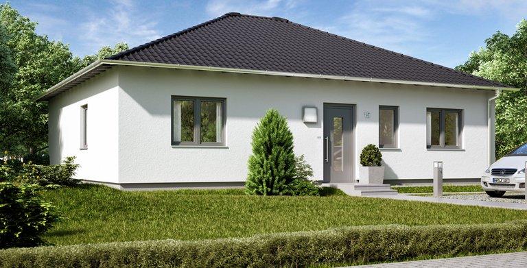 Der Bungalow hat eine Wohnfläche von 100 Quadratmetern. Copyright: