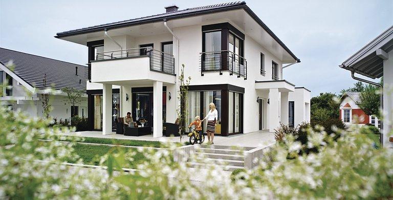 Moderne Stadtvilla Copyright: WeberHaus