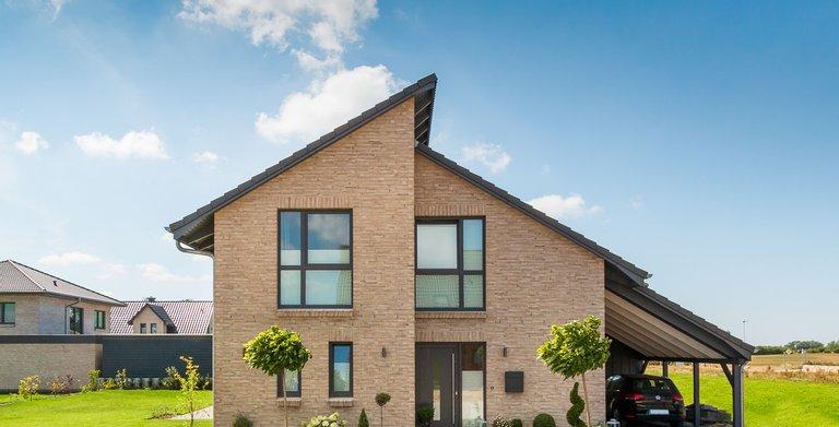 Pultdachhaus 130 von ECO System HAUS GmbH