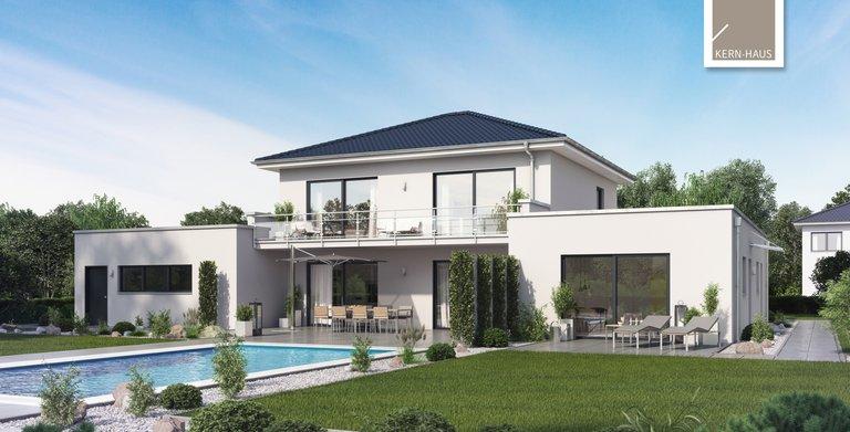 Kern-Haus Mehrfamilienhaus Vivaro Gartenseite Copyright: