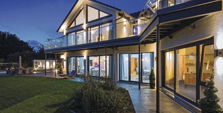 Beeindruckende Villa mit Stil Copyright: WeberHaus