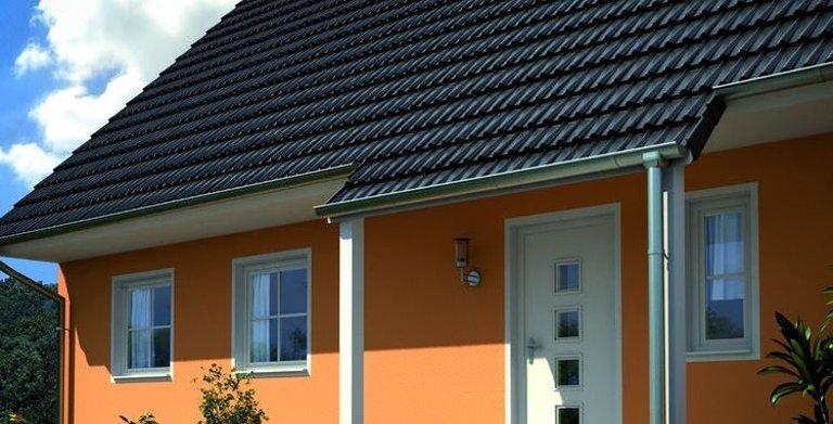 Generationenhaus SH 165 EW mit überdachtem Hauseingang Copyright: ScanHaus Marlow GmbH