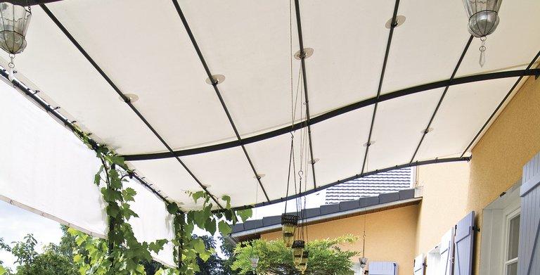 Lauschiges Plätzchen für heiße Sommertage Copyright: WeberHaus