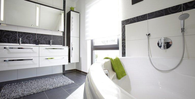 Fingerhaus badezimmer  Kundenhaus - VIO von FingerHaus GmbH - hausbaubuch.info ...