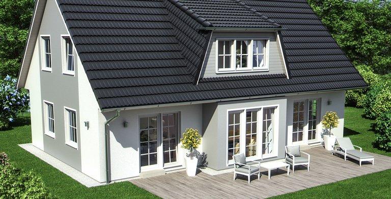 generationenhaus sh 165 ew von scanhaus marlow gmbh. Black Bedroom Furniture Sets. Home Design Ideas