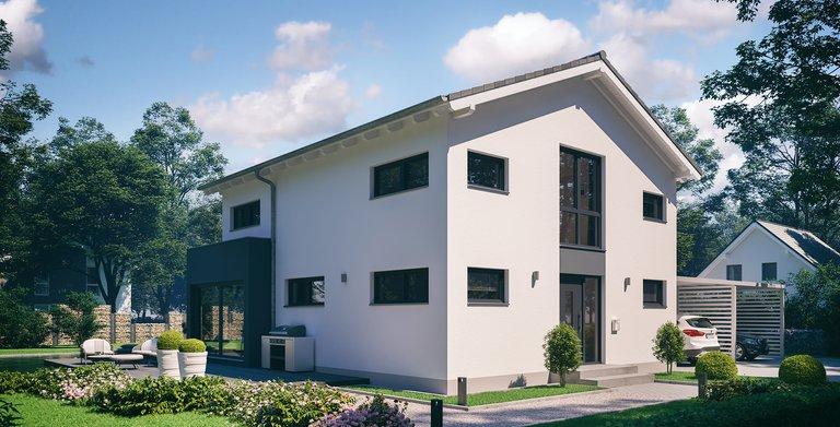 Architektenhaus Allea von Kern-Haus Eingangsseite Copyright: