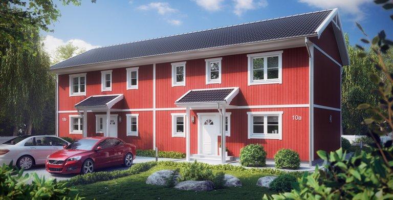 Villa Thea-E Mogensen von ALADOMO Schwedenhaus GmbH & Co. KG