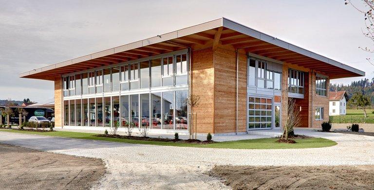 Kompetenzzentrum UNTERREINER (Sonnleitner Holzbauwerke) Copyright: