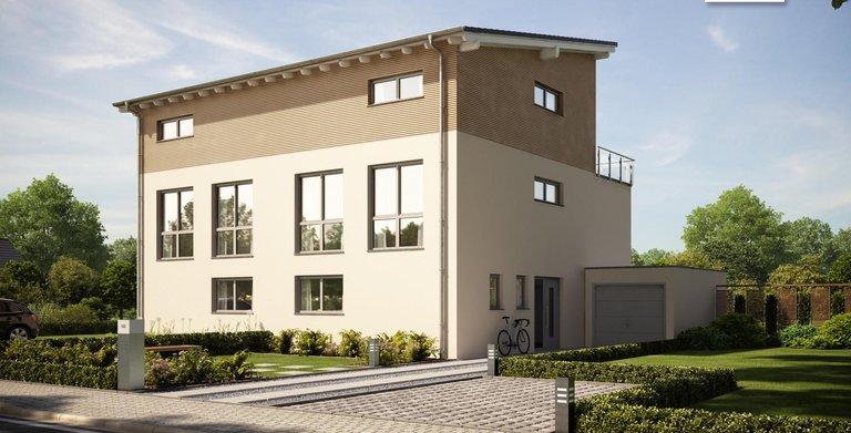 Moderne im doppelten Sinne! Architektenhaus View von Kern-Haus Copyright: