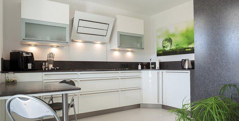 Die Küche ist fnktional und modern ausgestattet Copyright: Wolf-Haus