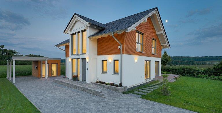 Dreigiebelhaus TRITOS Heßdorf von KAMPA GmbH