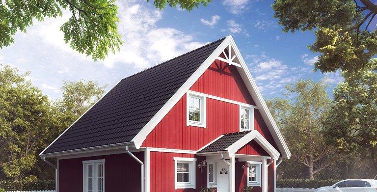 Villa Alma Madsen von ALADOMO Schwedenhaus GmbH & Co. KG