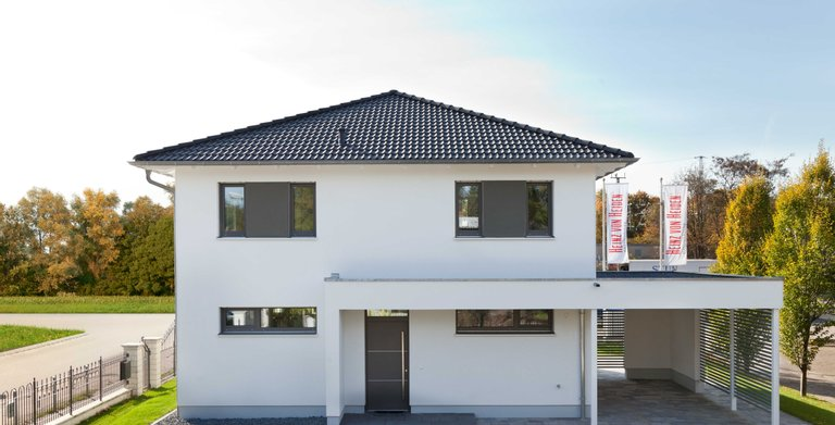 Dank der SmartHome-Technologie ist das Musterhaus Köpenick komfortabel, sicher und energieeffizient.  Copyright: Heinz von Heiden GmbH Massivhäuser
