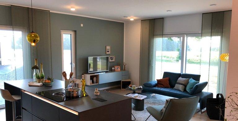 Küche und Wohnzimmer Copyright: