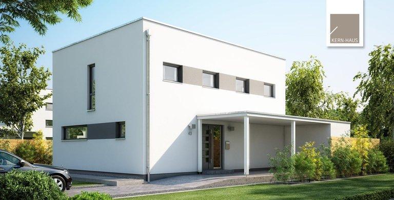 Kern-Haus Bauhaus Etos Eingansseite Copyright:
