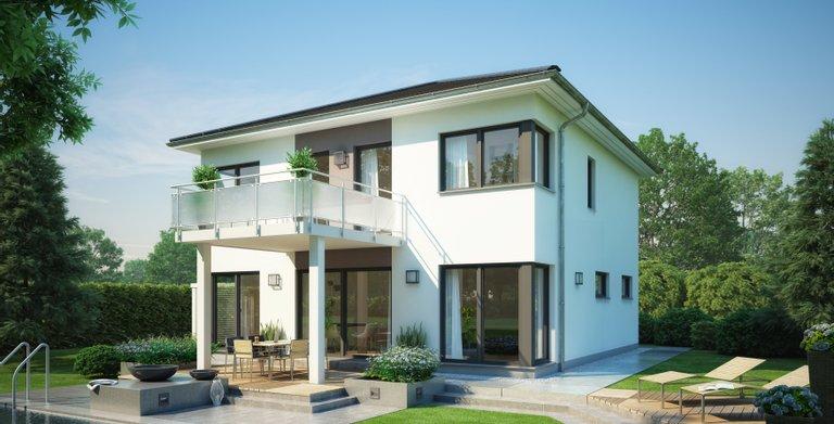 Sinn für Komfort und Lebensraum mit der Stadtvilla Centro von Kenr-Haus Copyright: