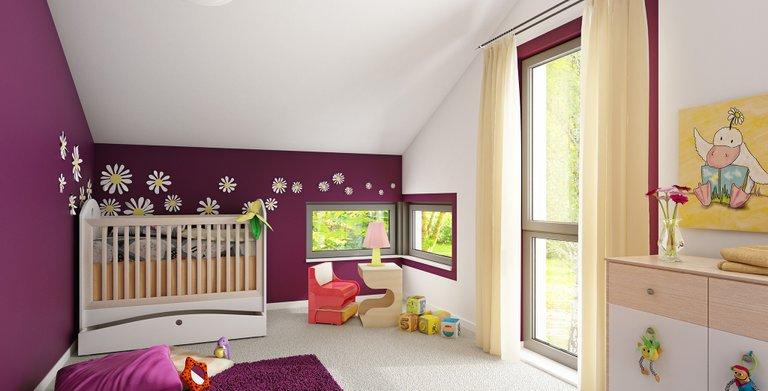 Wohnbeispiel Kinderzimmer