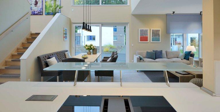satteldachhaus lanos bad vilbel von kampa gmbh fertigh user und. Black Bedroom Furniture Sets. Home Design Ideas