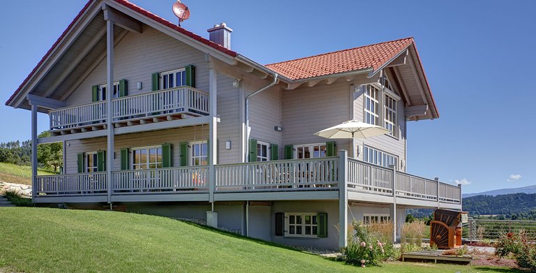 Kundenhaus ATTERGAU (Sonnleitner Holzbauwerke) Copyright: