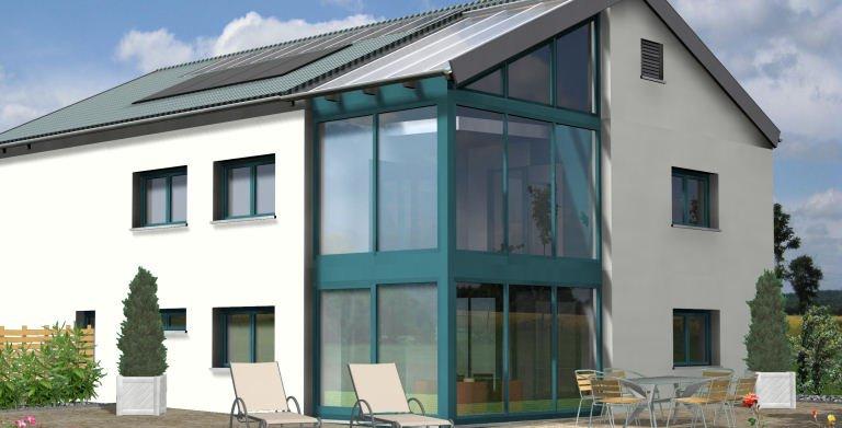 Planungsbeispiel Einfamilienhaus 252H20 von Bio-Solar-Haus