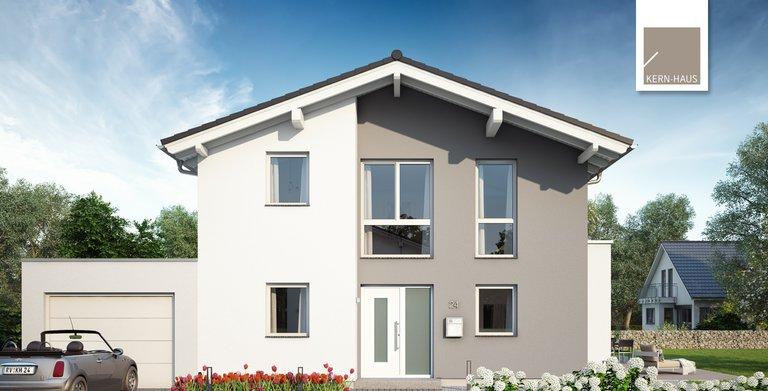 Kern-Haus Architektenhaus Vero Eingangsseite Copyright: