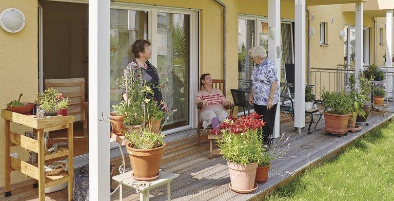 Altersgerechte Wohngemeinschaft Copyright: WeberHaus